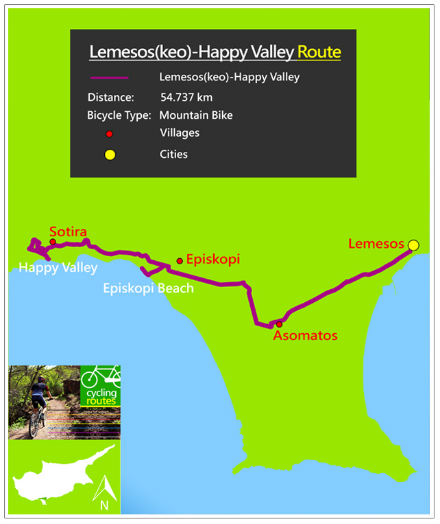 Lemesoskeo HappyValley Map