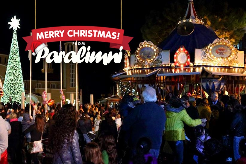 CHRISTMAS WONDER IN PARALIMNI