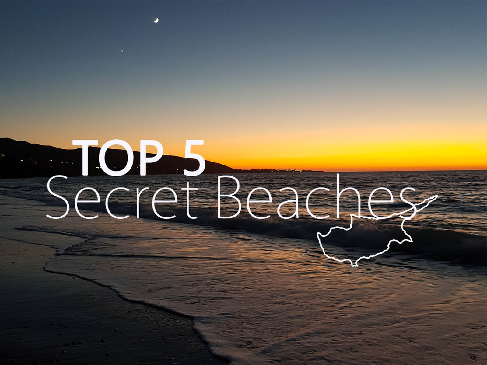 OUR TOP 5 SECRET BEACHES