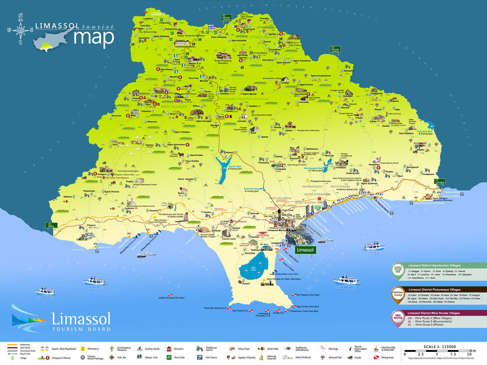 Cyprus Limassol District Visit in Cyprus Booking in Cyprus
