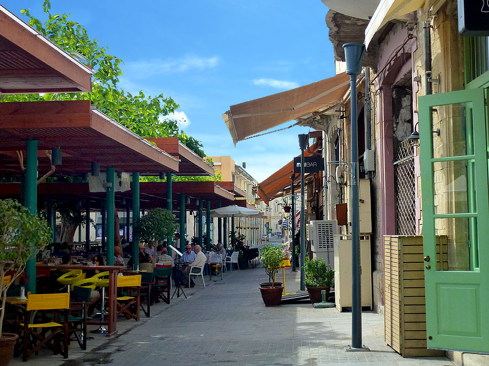 Saripolou Square & Old Market (Bar - Cafe -Restaurants)